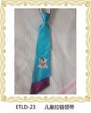 【八号】拼色烫画双斜角领带23